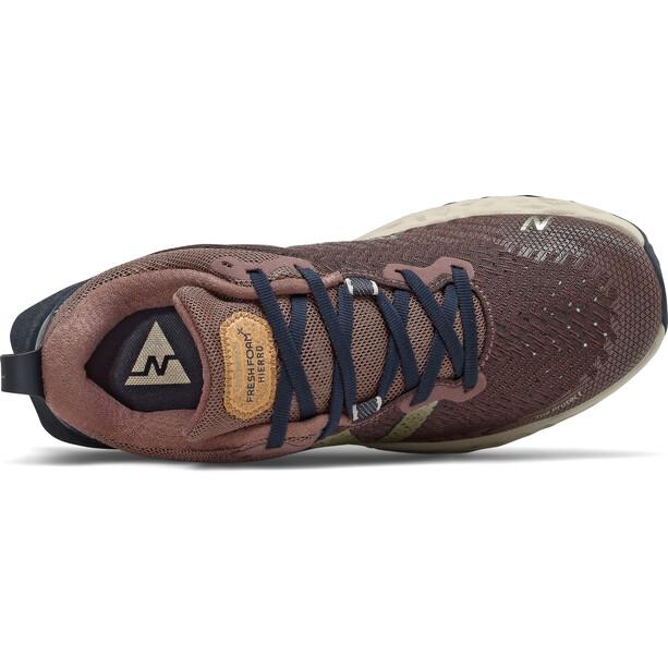 New Balance Hierro V6 Trail Running Schuhe Damen black fig