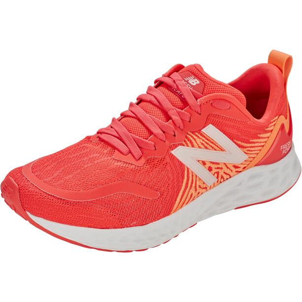 New Balance Tempo V1 Laufschuhe Damen vivid coral