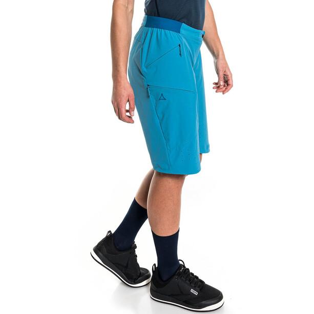Schöffel Mellow Trail Shorts Women, bleu