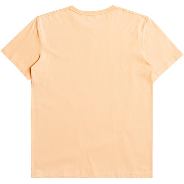 Quiksilver Wider Miless Kurzarm T-Shirt Herren orange