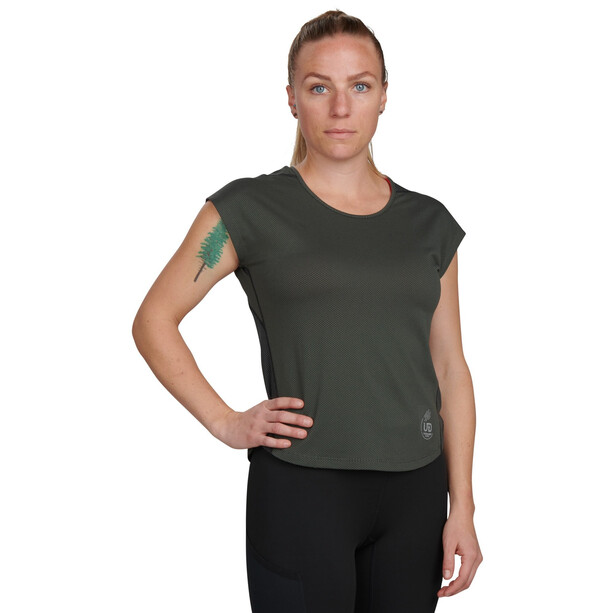 Ultimate Direction Nimbus Tee Women, gris/olive