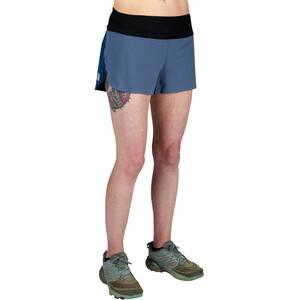 Ultimate Direction Velum Shorts Damen slate blue slate blue