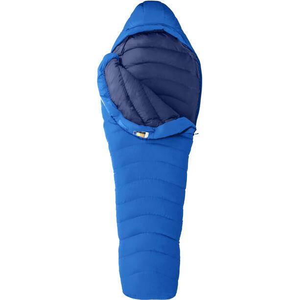 Marmot Helium Schlafsack Regular ceylon blue/arctic navy