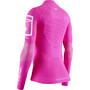 X-Bionic Effektor 4.0 Trail Run Half Zip LG SL Damen pink