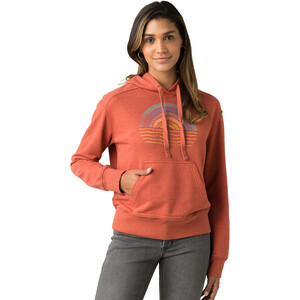 Prana Graphic Hoodie Damen liqueur freeway liqueur freeway