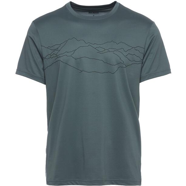 Black Diamond Genesis Tech T-Shirt Herren blau