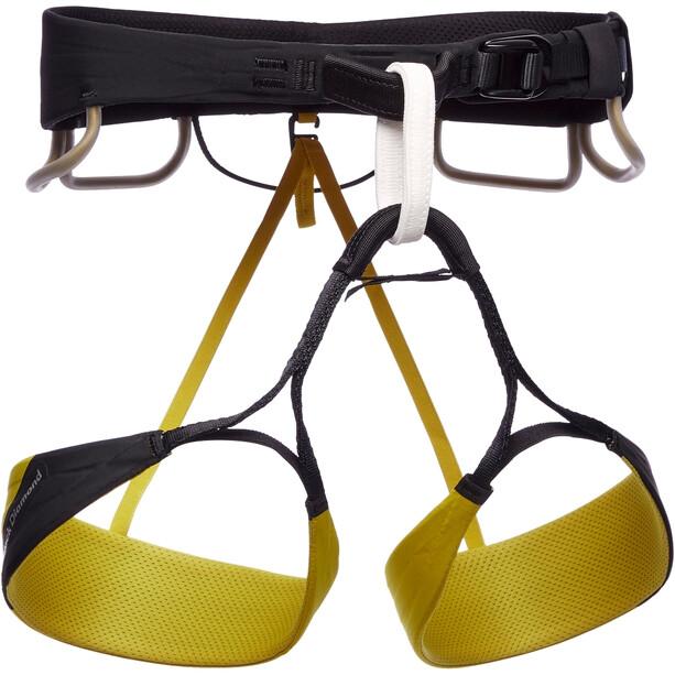 Black Diamond Zone Harness Men, noir/jaune