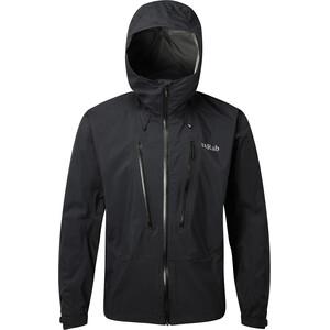 Rab Downpour Alpine Jacket Men black black