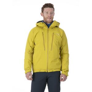 Rab Downpour Alpine Jacket Men, sulphur sulphur