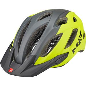MET Crossover Helm gelb/grau gelb/grau