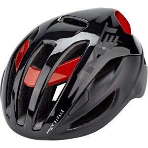 MET Rivale MIPS Helmet, noir/rouge noir/rouge