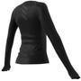 adidas Adi Runner Langarmshirt Damen black/reflective silver