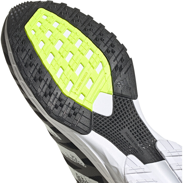 adidas Adizero RC 3 Schuhe Herren core black/footwear white/solar yellow