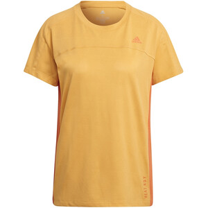 adidas Heat.Rdy Kurzarm T-Shirt Damen orange orange