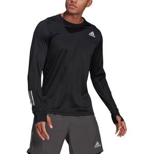 adidas OWN The Run LS Shirt Men, musta musta