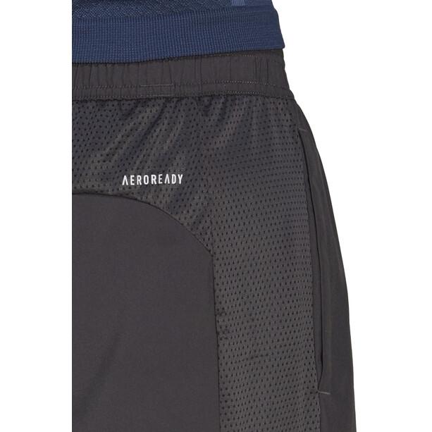 """adidas OWN The Run 2N1 Short 7"""" Homme, gris"""