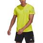 adidas OWN The Run T-shirt Homme, jaune