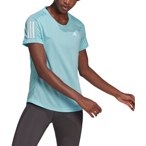 adidas OWN The Run Kurzarm T-Shirt Damen hazy sky hazy sky