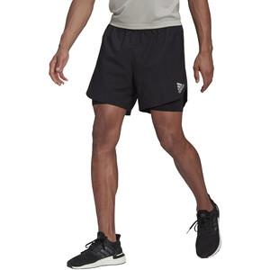 adidas Primeblue 2in1 Shorts Herren black black