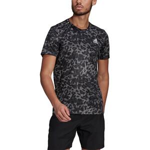 adidas Primeblue Kurzarm T-Shirt Herren grau/schwarz grau/schwarz