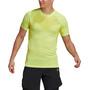 adidas Primeknit Kurzarm T-Shirt Herren gelb