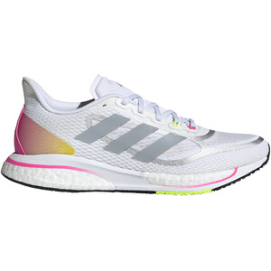 adidas Supernova + Schuhe Damen weiß/pink weiß/pink