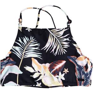 Roxy Printed Beach Classics Crop Top Damen schwarz/bunt schwarz/bunt