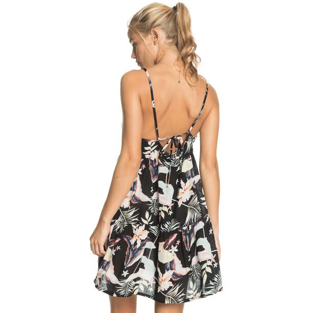 Roxy Printed Sand Dune Kleid Damen anthracite praslin s