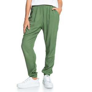 Roxy Solid Easy Peasy Hose Damen vineyard green vineyard green