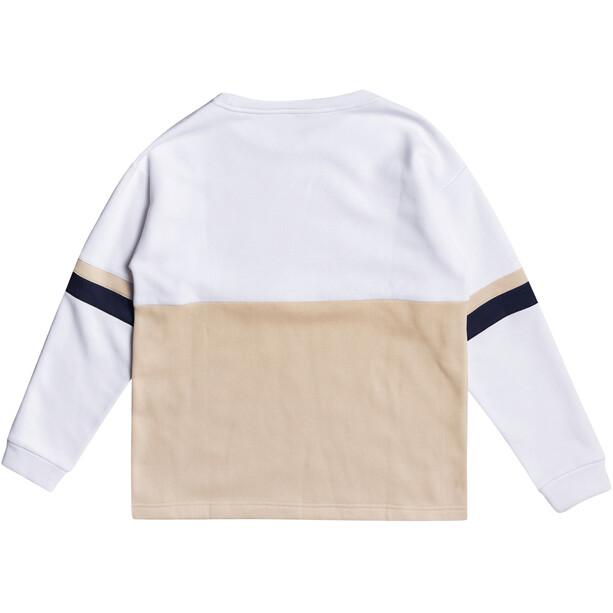 Roxy Weekend Vibrations Sweater Damen bright white