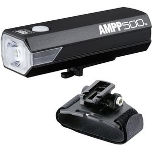 CatEye Ampp500 HL-EL500RC Kypärälamppu, musta musta