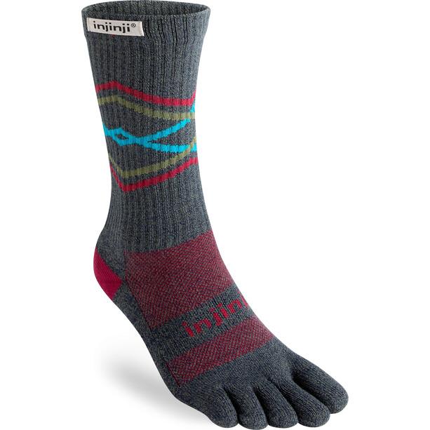 Injinji Trail MW Crew X-Life Socks granite