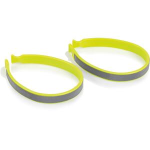 XLC CP-C01 Trouser Clip Set, geel/zilver geel/zilver