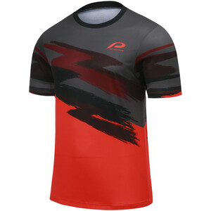 Protective P-On Acid Camiseta Ciclismo Hombre, rojo rojo