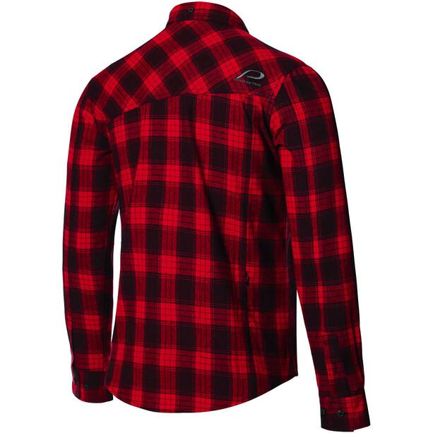 Protective P-Rockabilly Longsleeve Shirt Men, attack red
