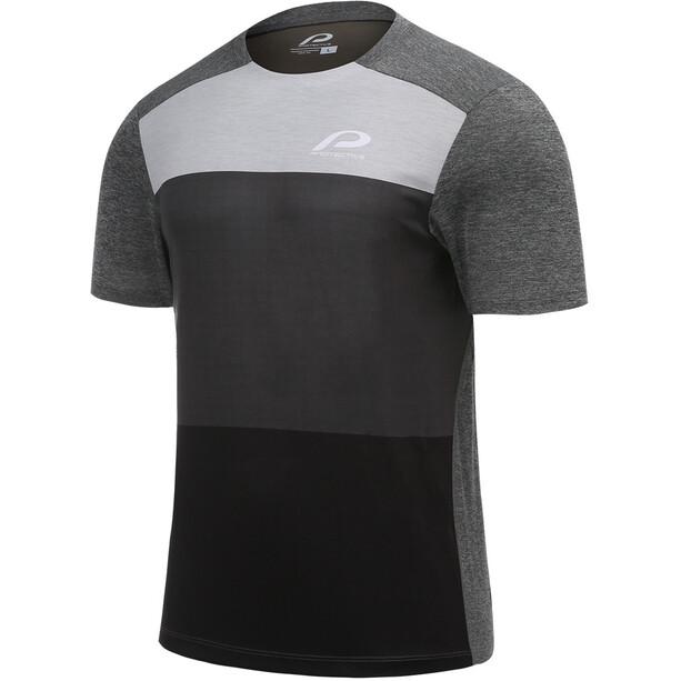 Protective P-Shade Cycling Shirt Men, gris