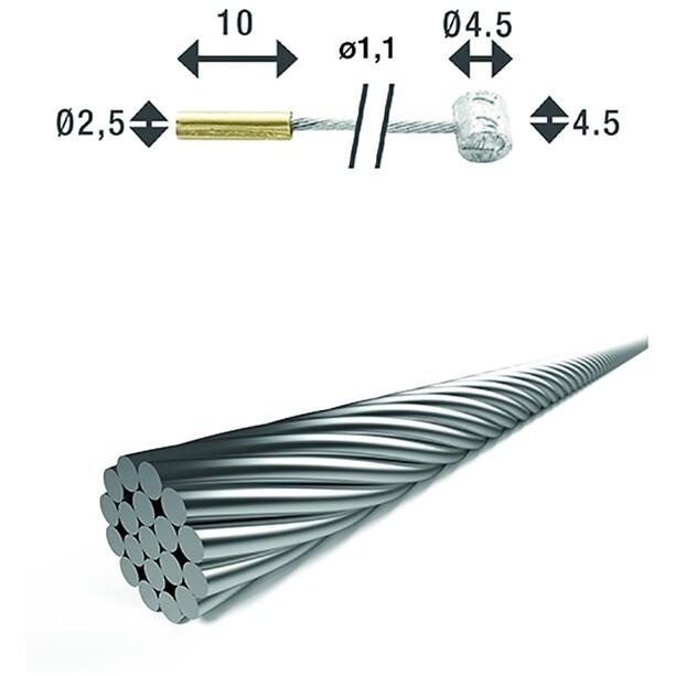XLC SH-X18 Skift indvendigt kabel Ø1,1mm 2250mm