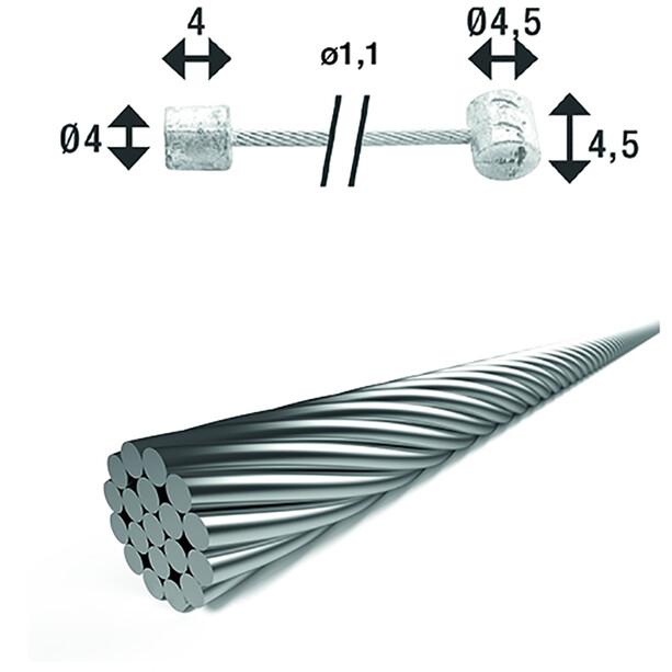 XLC SH-X18 Shift Inner Cable Ø1,25mm 2250mm