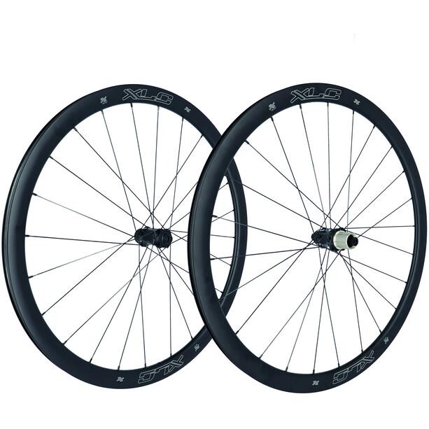 "XLC WS-C37 Road Carbon Wheel Set 28"" Disc CL TA"