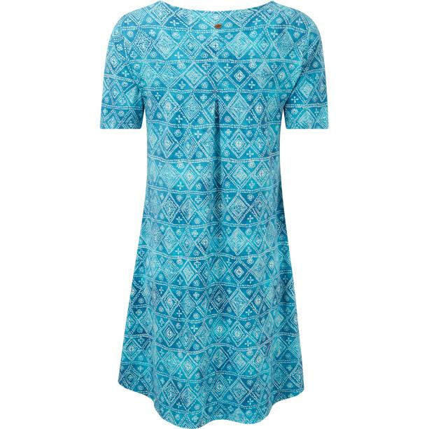Sherpa Kira Swing Kleid Damen neelo blue