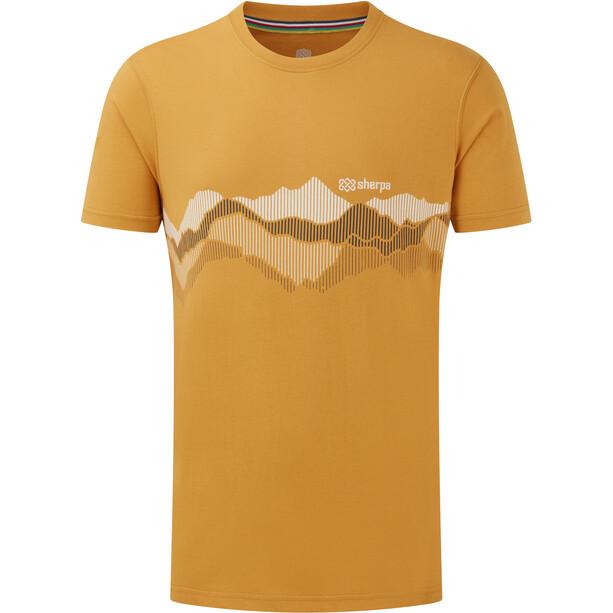 Sherpa Ulto Tee Herren daal yellow