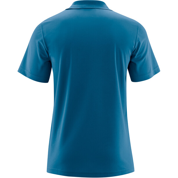 Maier Sports Ulrich Polo Homme, blue sapphire