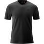Maier Sports Wali Kurzarm Shirt Herren schwarz