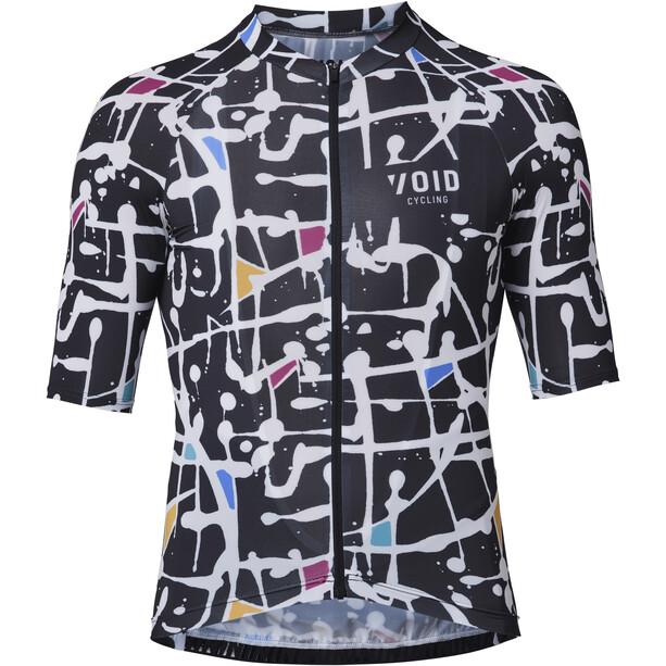 VOID Abstract Jersey Men, noir/Multicolore