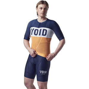VOID Fusion Kurzarm Trikot Herren orange/blau orange/blau