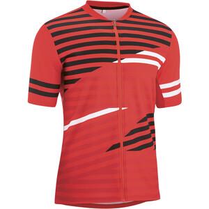 Gonso Agno Full-Zip Kurzarm Radshirt Herren rot rot