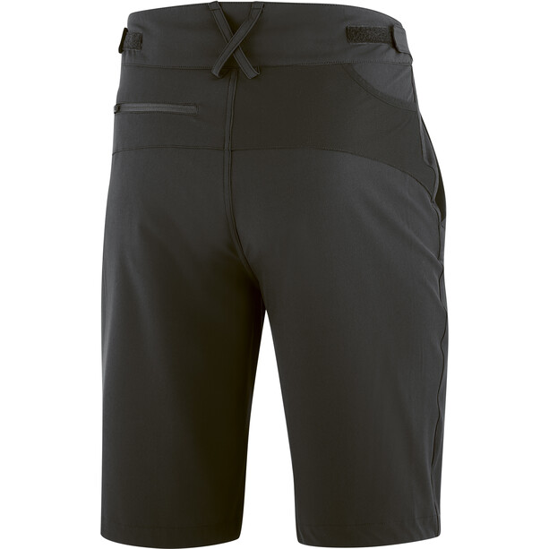 Gonso Fumero Cykel shorts med Pad Herrer, sort
