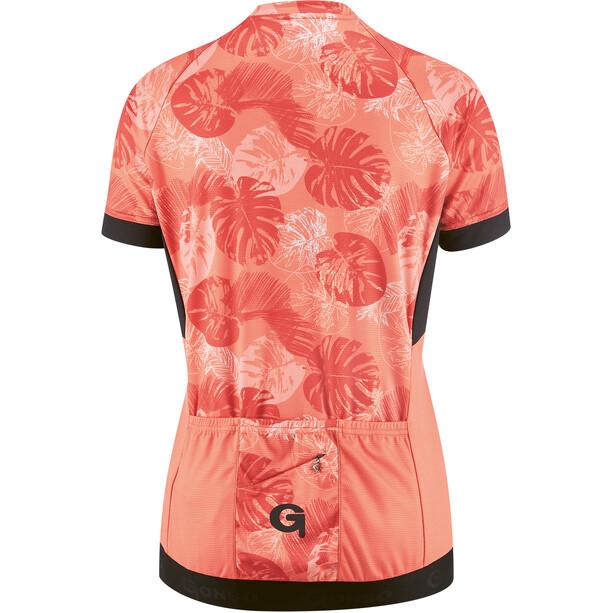 Gonso Borbera Full-Zip SS cykeltrøje Damer, rød