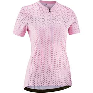 Gonso Giustina Half-Zip Kurzarm Fahrrad Trikot Damen pink pink