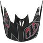 Troy Lee Designs D3 Fiberlite Helmet oliv/flerfärgad